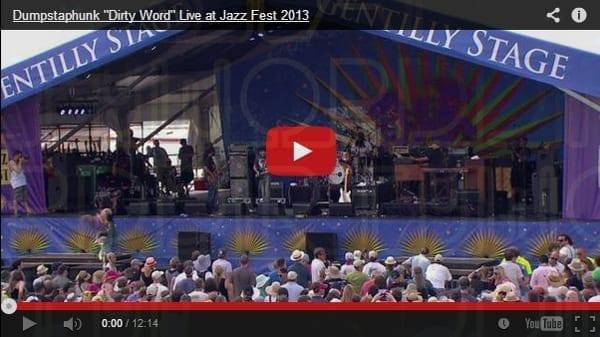 Happy JazzFest from Dumpstaphunk